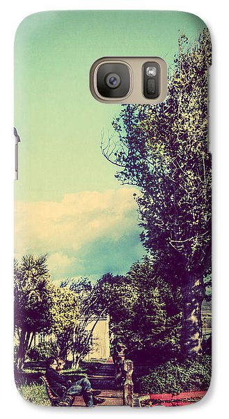 Galaxy Case featuring the photograph Quiet Reflections by Melanie Lankford Photography