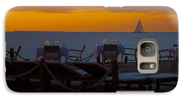 Galaxy Case featuring the photograph Quiet Time ... by Chuck Caramella