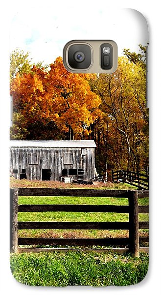 Galaxy Case featuring the photograph Quietly Aging by Carlee Ojeda