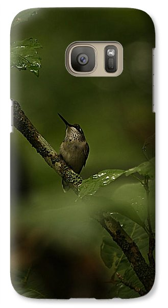 Galaxy Case featuring the photograph Quietly Waiting by Tammy Schneider