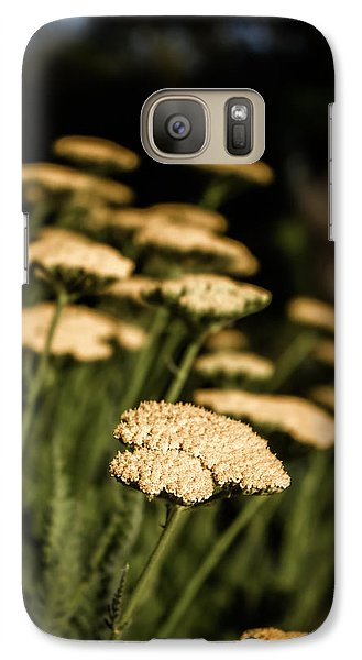 Galaxy Case featuring the photograph Quivering Yarrow by Dave Garner