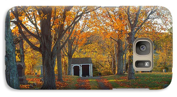 Galaxy Case featuring the photograph Quivet Morning by Dianne Cowen