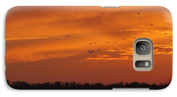 Galaxy Case featuring the photograph Quivira Sunset 1 by Rob Graham