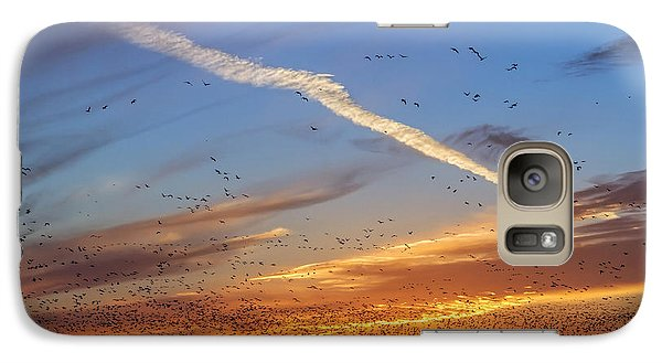 Galaxy Case featuring the photograph Quivira Sunset 2 by Rob Graham