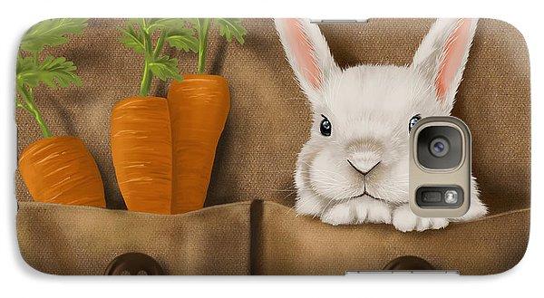Rabbit Hole Galaxy S7 Case by Veronica Minozzi