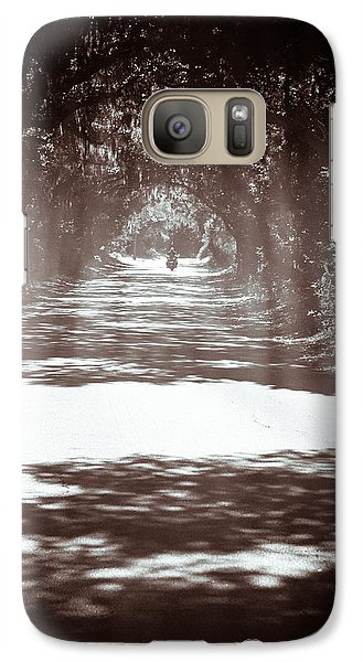 Galaxy Case featuring the photograph Racin The Wind Chasin The Sun by Wade Brooks