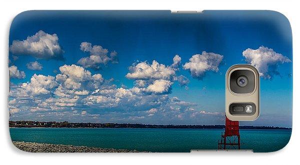 Racine Harbor Lighthouse Galaxy S7 Case