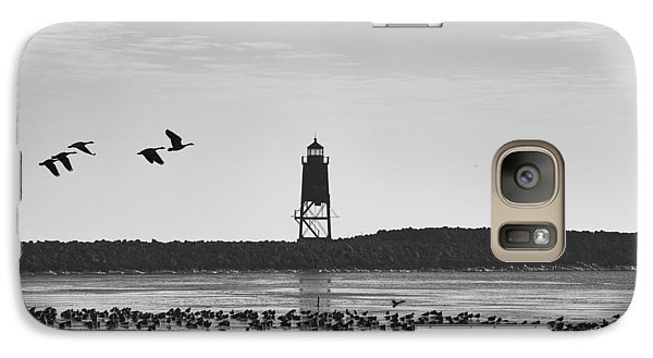 Galaxy S7 Case featuring the photograph Racine Lakefront by Ricky L Jones