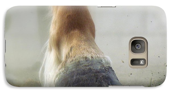 Galaxy Case featuring the photograph Life Racing by France Laliberte