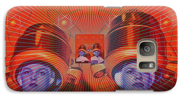 Galaxy Case featuring the digital art Radiant by Sasha Keen