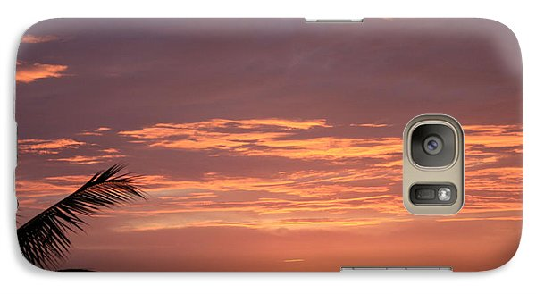 Galaxy Case featuring the photograph Radiant Sunset 2 by Karen Nicholson