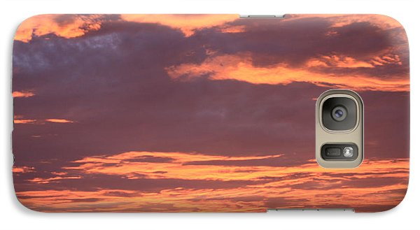 Galaxy Case featuring the photograph Radiant Sunset 3 by Karen Nicholson