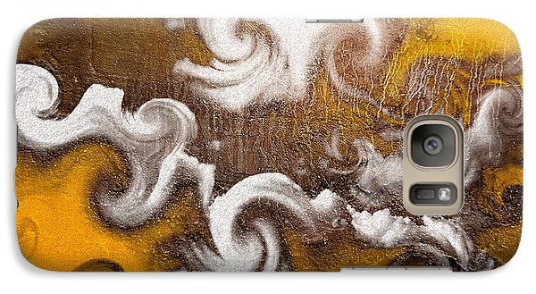 Galaxy Case featuring the digital art Rage by Davina Washington