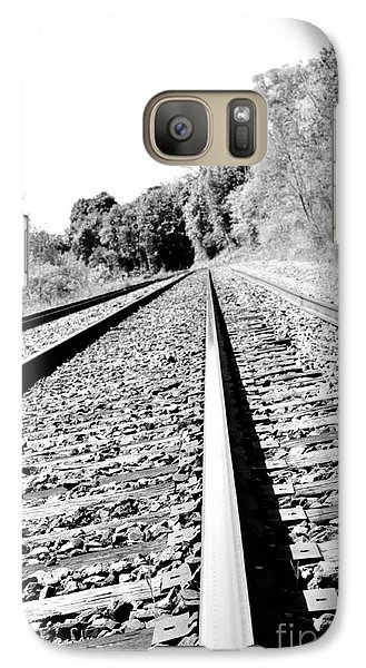 Galaxy Case featuring the photograph Railroad Track by Joe  Ng