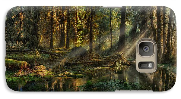 Rain Forest Sunbeams Galaxy S7 Case