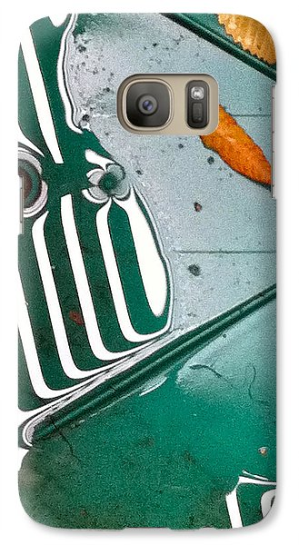Galaxy Case featuring the photograph Rain Reflections by Bill Owen