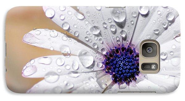 Rain Soaked Daisy Galaxy S7 Case