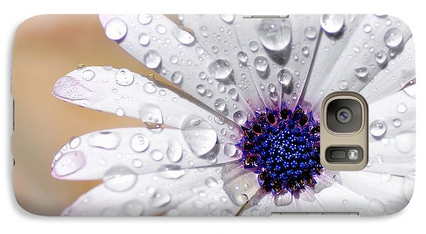 Rain Soaked Daisy Galaxy S7 Case by Kaye Menner