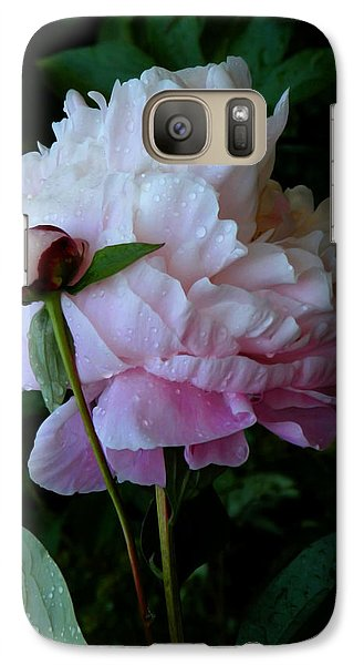 Rain-soaked Peonies Galaxy S7 Case