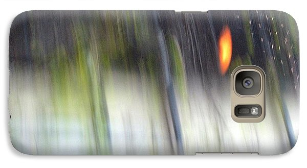 Galaxy Case featuring the photograph Rain Streaked City Scenes by Chris Anderson