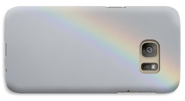 Galaxy Case featuring the photograph Rainbow After The Rain by Barbara Griffin