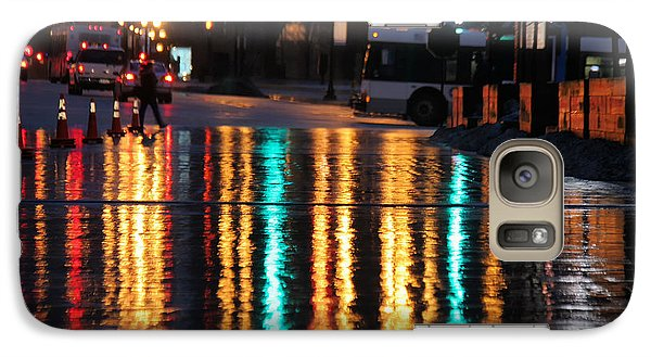 Galaxy Case featuring the photograph Rainbow Ave by Jerome Lynch