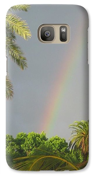 Galaxy Case featuring the photograph Rainbow Bermuda by Photographic Arts And Design Studio