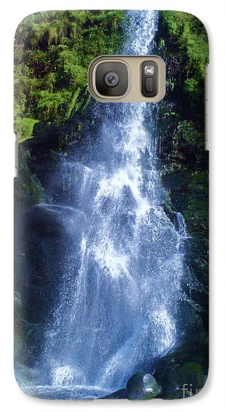 Galaxy Case featuring the photograph Rainbow Falls by John Williams