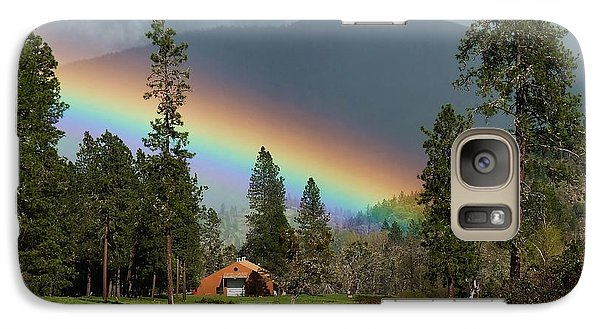 Galaxy Case featuring the photograph Rainbow Forest by Julia Hassett