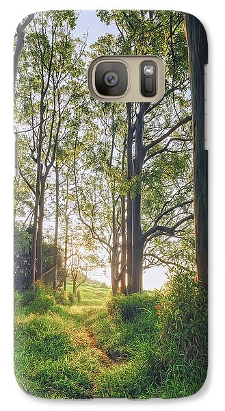 Galaxy Case featuring the photograph Rainbow Grove by Hawaii  Fine Art Photography
