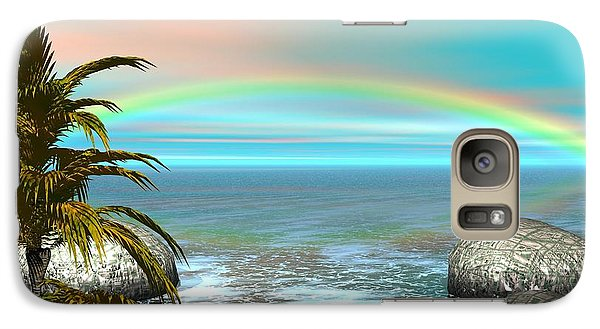 Galaxy Case featuring the digital art Rainbow by Jacqueline Lloyd