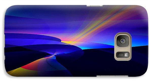 Galaxy Case featuring the digital art Rainbow Pathway by GJ Blackman