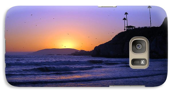Galaxy Case featuring the photograph Rainbow Sunset by Debra Thompson