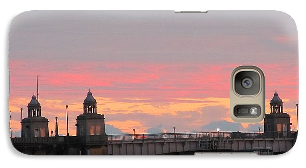 Galaxy Case featuring the photograph Rainbow Sunset by Joetta Beauford