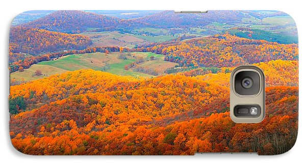Galaxy Case featuring the photograph Rainbow Valley by Candice Trimble