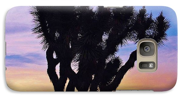 Galaxy Case featuring the photograph Rainbow Yucca by Angela J Wright