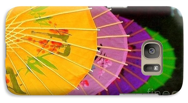 Galaxy Case featuring the photograph New Orleans Rainbowellas by Michael Hoard