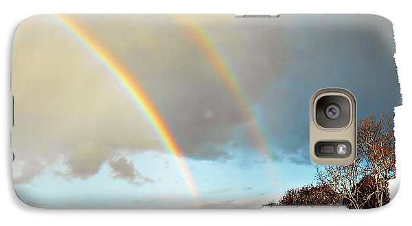 Galaxy Case featuring the photograph Rainbows by Leanne Seymour