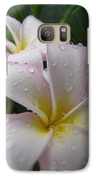Galaxy Case featuring the photograph Raindrops by Beth Vincent