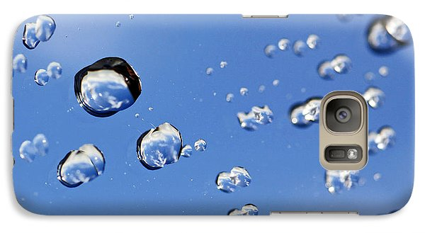 Galaxy Case featuring the photograph Raindrops On Window by Craig B