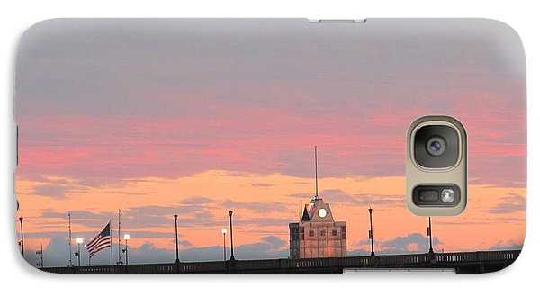 Galaxy Case featuring the photograph Rainless Rainbow At Sunset by Joetta Beauford