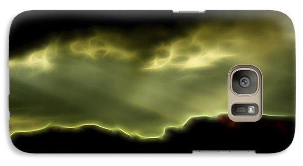Galaxy Case featuring the digital art Rainlight 1 by William Horden