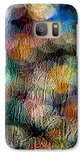 Galaxy Case featuring the photograph Rainy Day Christmas by Aaron Aldrich
