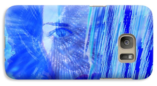 Galaxy Case featuring the digital art Rainy Day Dreams by Seth Weaver