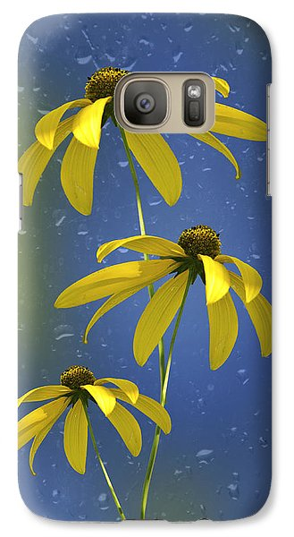 Galaxy Case featuring the photograph Rainy Day by Judy  Johnson