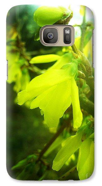 Galaxy Case featuring the photograph Rainy Dream by Nina Ficur Feenan