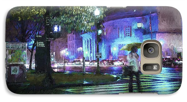 Rainy Night Blues Galaxy S7 Case
