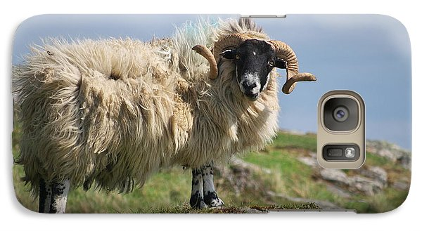 Galaxy Case featuring the photograph Ram by Juergen Klust