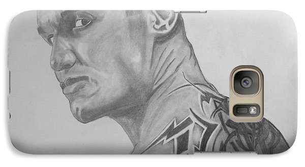 Galaxy Case featuring the drawing Randy Orton by Justin Moore