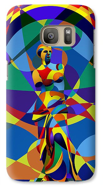Galaxy Case featuring the digital art Randy's Venus by Randall Henrie